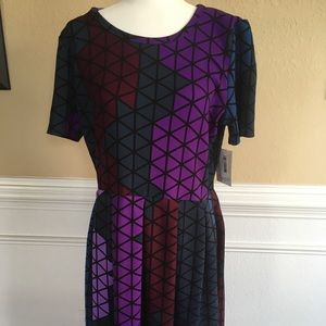 "NWT LuLaRoe ""Amelia"" Dress"